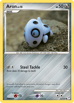 Aron card for Mysterious Treasures