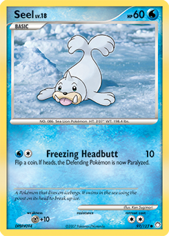 Seel card for Mysterious Treasures