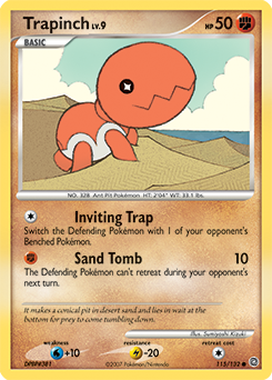 Trapinch card for Secret Wonders