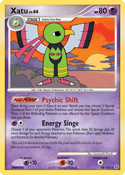 Xatu card for Secret Wonders