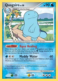Quagsire card for Secret Wonders