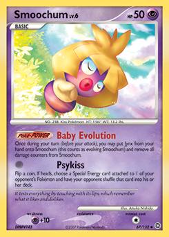 Smoochum card for Secret Wonders