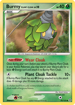 Burmy Plant Cloak