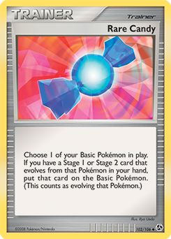 Rare Candy card for Great Encounters