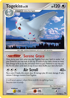 Togekiss card for Great Encounters