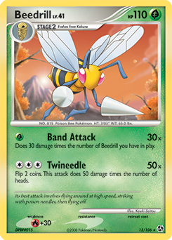 Beedrill card for Great Encounters