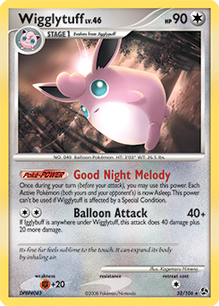 Wigglytuff card for Great Encounters