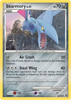 Skarmory card for Great Encounters