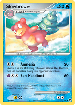 Slowbro card for Great Encounters