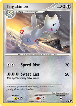 Togetic card for Great Encounters
