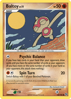 Baltoy card for Great Encounters