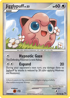 Jigglypuff card for Great Encounters