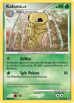 Kakuna card for Great Encounters