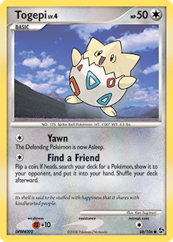 Togepi card for Great Encounters