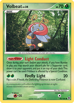 Volbeat card for Great Encounters