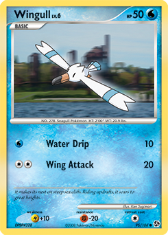 Wingull card for Great Encounters