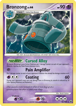 Bronzong card for Majestic Dawn