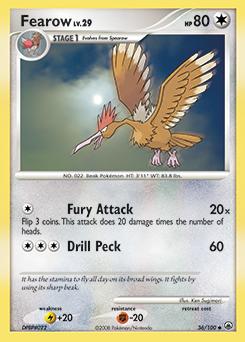 Fearow card for Majestic Dawn
