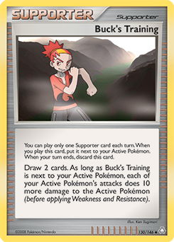 Buck's Training