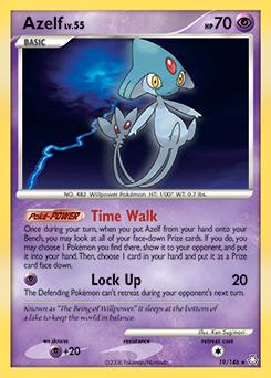 Azelf card for Legends Awakened
