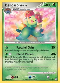 Bellossom card for Legends Awakened
