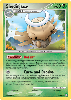 Shedinja card for Legends Awakened