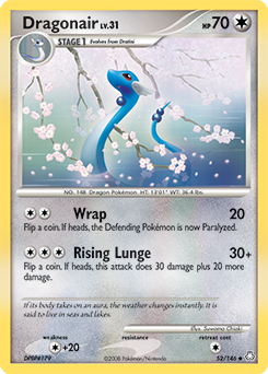Dragonair card for Legends Awakened