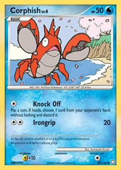 Corphish card for Legends Awakened