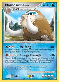 Mamoswine card for Legends Awakened