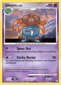 Gloom card for Legends Awakened