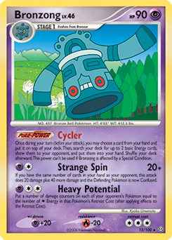 Bronzong card for Stormfront