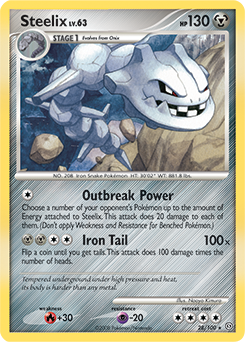 Steelix card for Stormfront