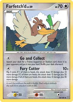 Farfetch'd card for Stormfront