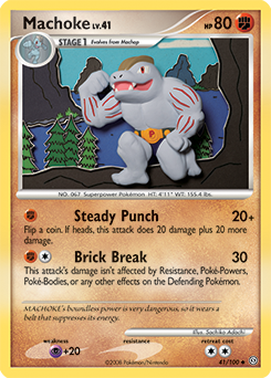 Machoke card for Stormfront