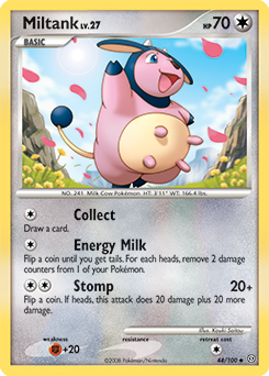 Miltank card for Stormfront