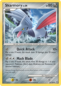 Skarmory card for Stormfront