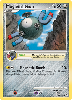 Magnemite card for Stormfront