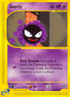 Gastly card for Expedition Base Set