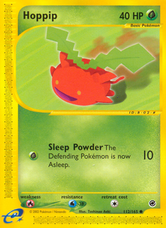 Hoppip card for Expedition Base Set