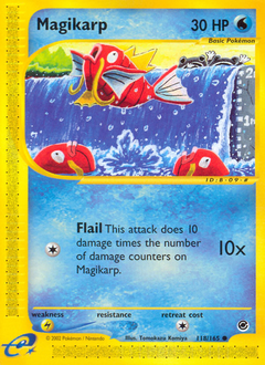 Magikarp card for Expedition Base Set