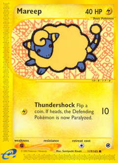 Mareep card for Expedition Base Set