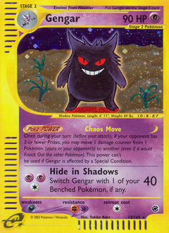 Gengar card for Expedition Base Set
