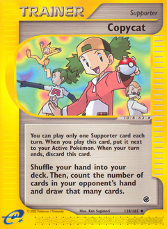 Copycat card for Expedition Base Set