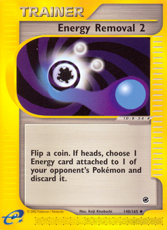 Energy Removal 2 card for Expedition Base Set