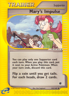 Mary's Impulse card for Expedition Base Set