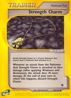 Strength Charm card for Expedition Base Set