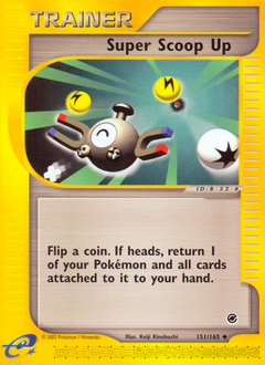 Super Scoop Up card for Expedition Base Set