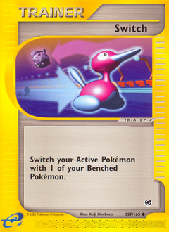 Switch card for Expedition Base Set