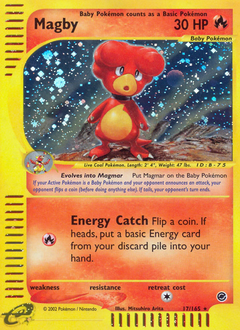 Magby card for Expedition Base Set