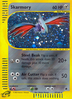 Skarmory card for Expedition Base Set